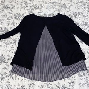 H&M double layer pull over sweater